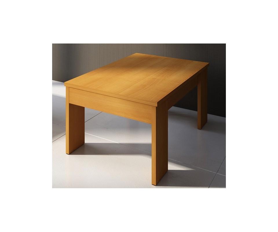 Comprar mesa centro elevable cerezo precio muebles for Mesas de centro color cerezo