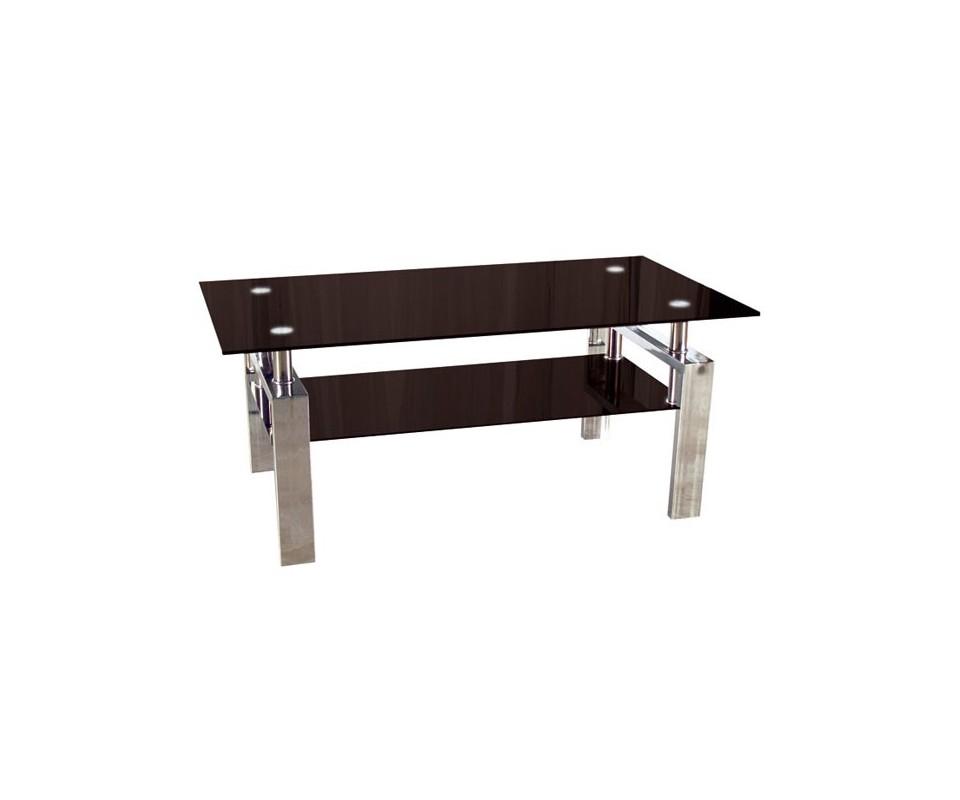 Comprar mesa centro metal y cristal precio muebles - Mesas de centro y auxiliares ...