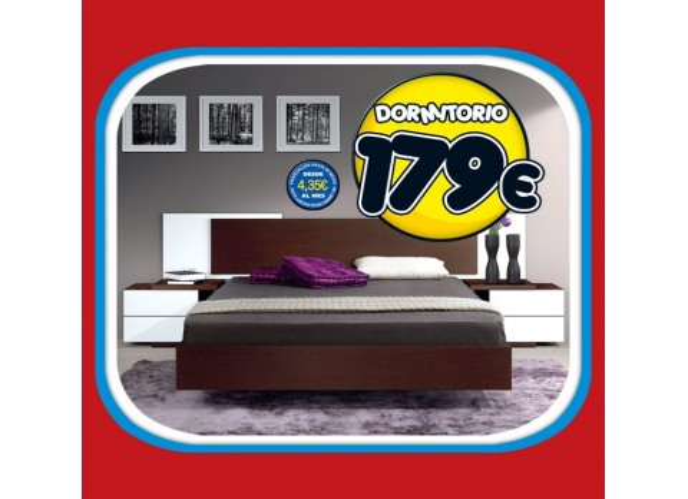 Comprar dormitorio matrimonio s armario precio - Tuco dormitorios ...