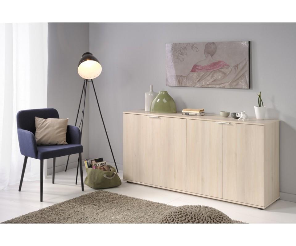 Comprar aparador cuatro puertas luj n precio de for Precios muebles salon modernos