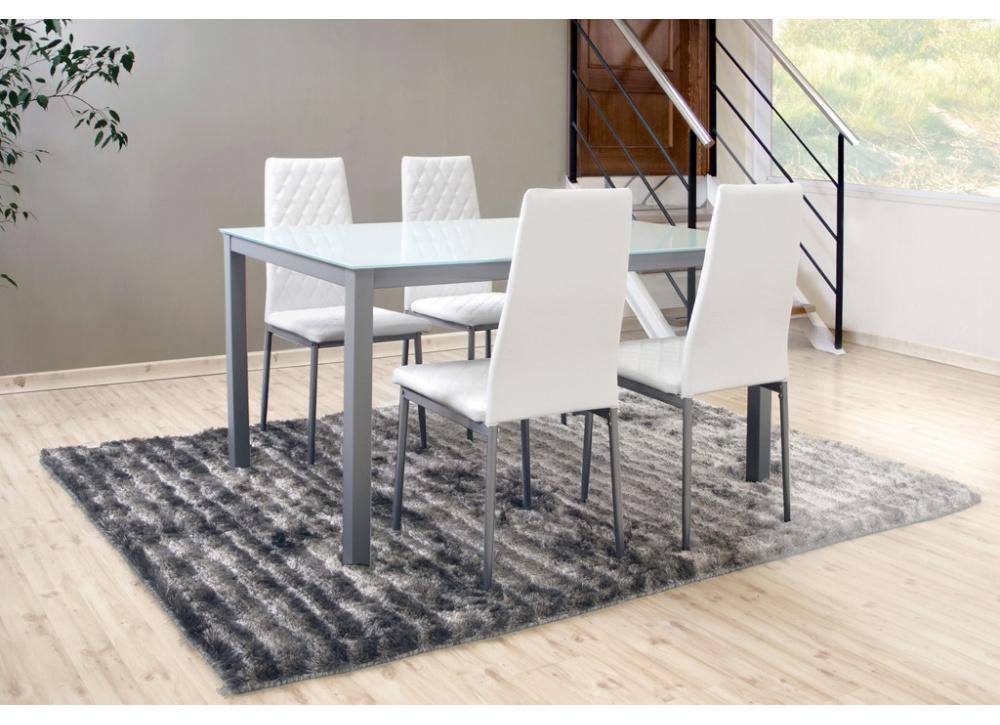 Pack mesa y cuatro sillas Clinc
