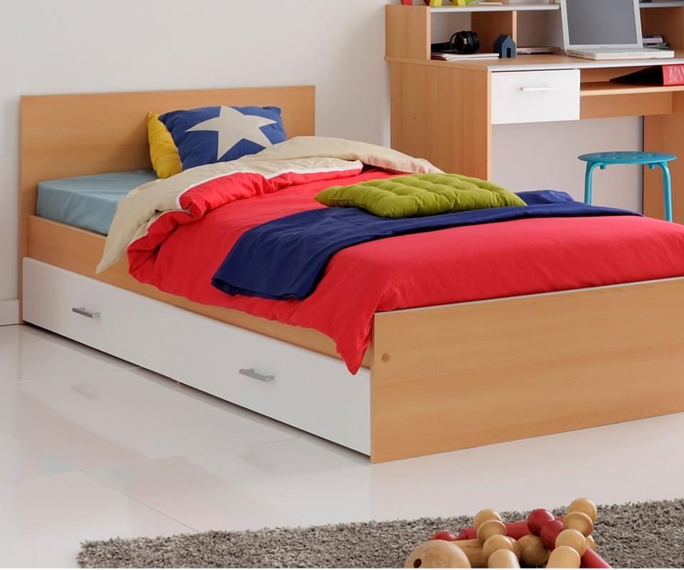 Comprar cama juvenil edgar precio cabeceros y camas - Camas juveniles precios ...