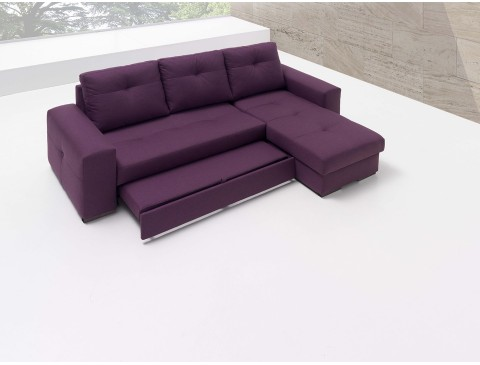 T2GAMA15 sofacama con chaiselongue