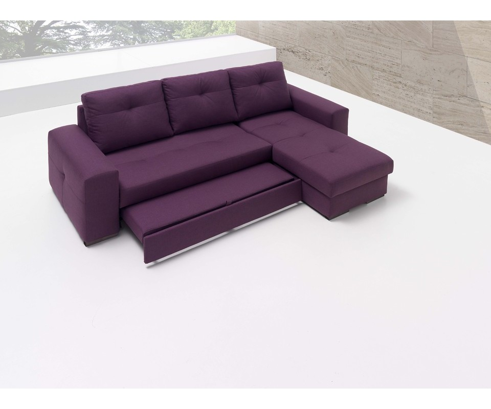 Sofa camas sofa camas with design gallery 2730 kengire for Sofa cama chaise longue piel