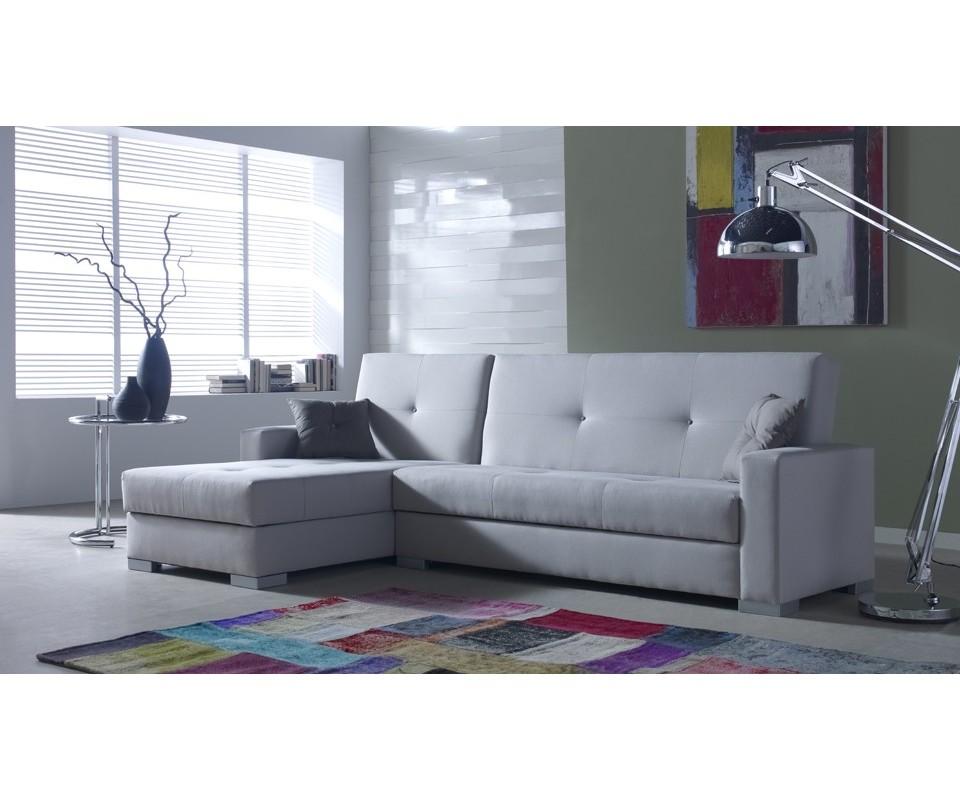 Comprar sof cama con chaise longue ontario precio sof s for Sofa cama dos camas