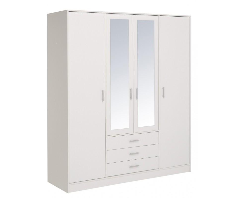 Comprar armario con espejo oslo precio armarios for Espejo con almacenaje