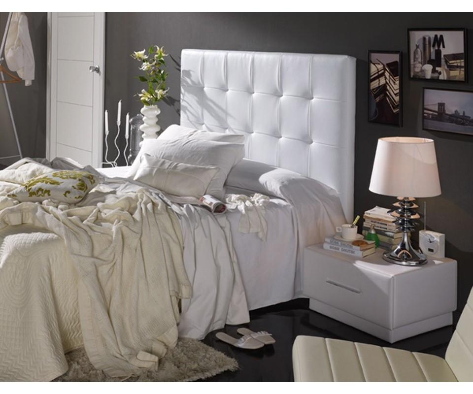 Comprar cabecero tapizado m dena precio cabeceros y - Cabeceros de cama blancos ...