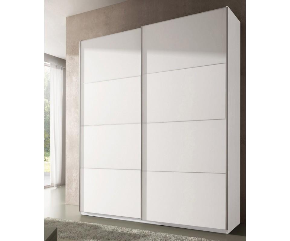 Comprar armario puertas correderas luca precio armarios - Armario blanco puertas correderas ...