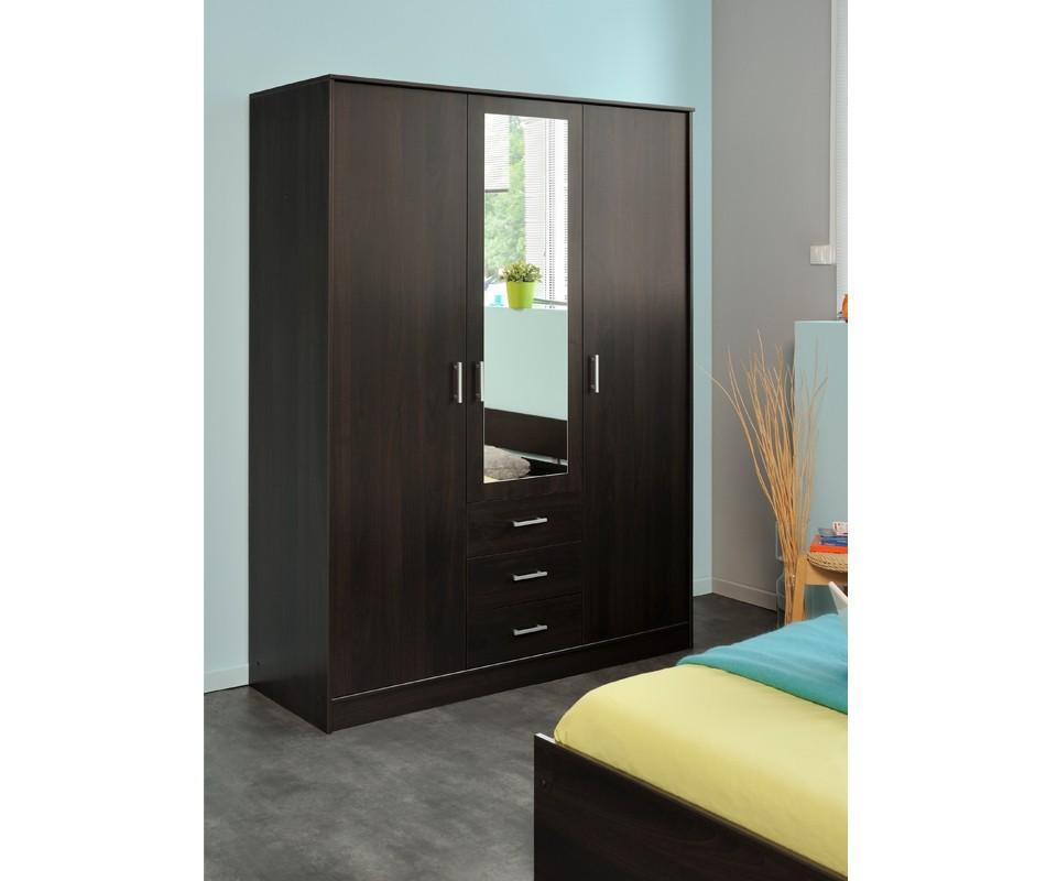 Comprar armario con espejo oslo precio armarios for Mueble zapatero esquinero