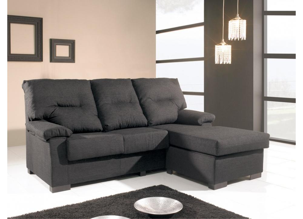 Sofá con chaise longue Potomak