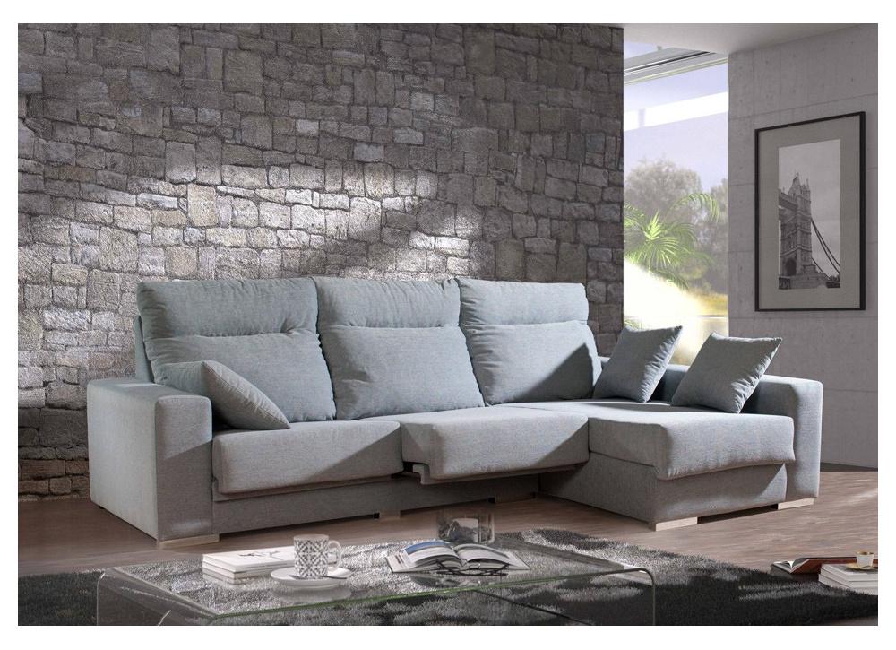 Sofá con chaise longue Manhattan
