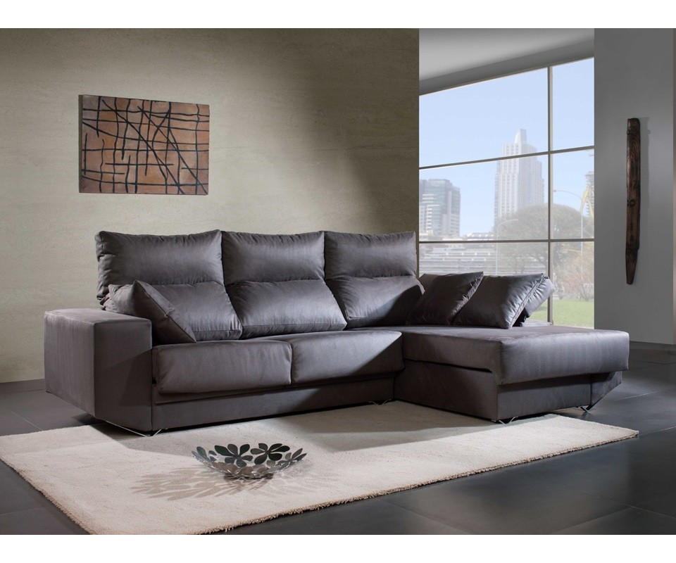Comprar sof con chaise longue michigan precio chaise for Sofas chaise longue pequenos