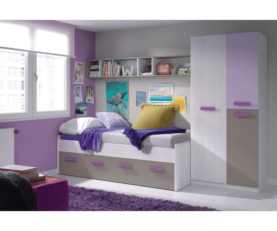 Comprar habitaci n juvenil alicia precio conjuntos dormitorios juveniles - Habitaciones juveniles muebles tuco ...