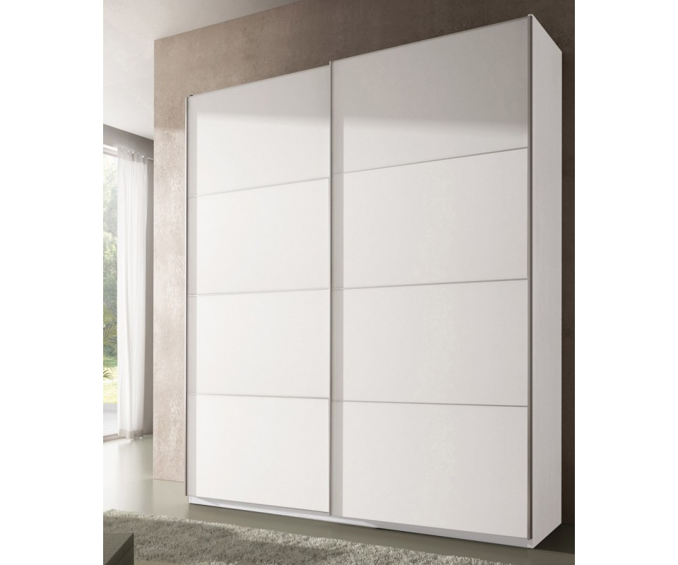 Comprar armario dubl n puertas correderas precio - Armario blanco puertas correderas ...