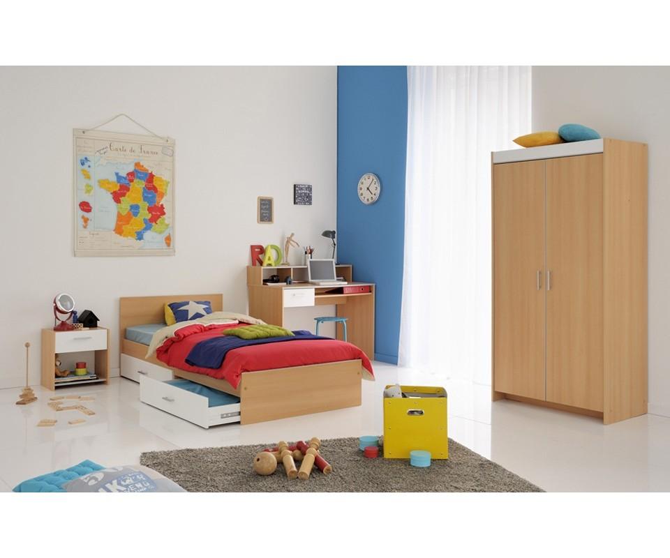 dormitorio juvenil dos cama: