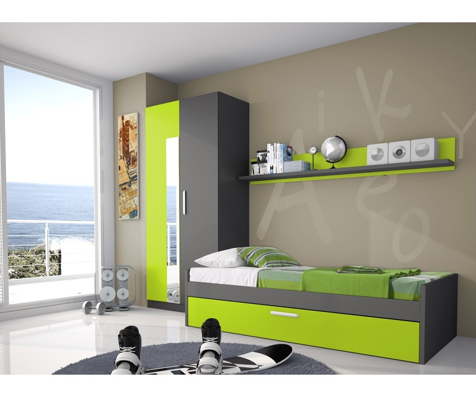 Comprar estante pared dylan precio estanter as - Muebles auxiliares habitacion juvenil ...