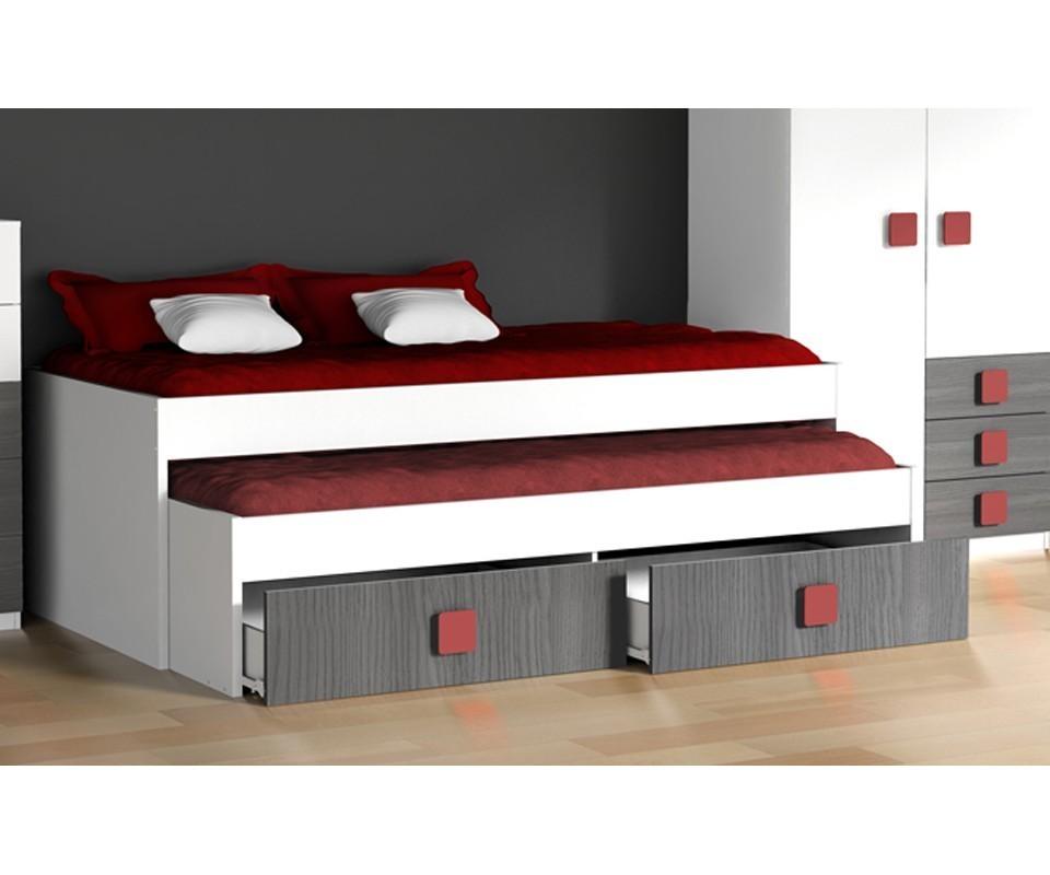 Comprar compacto juvenil rachel precio camas nido for Camas en alto juveniles
