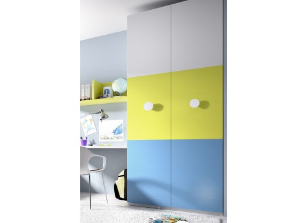 Casas cocinas mueble armario habitacion juvenil - Armarios juveniles merkamueble ...