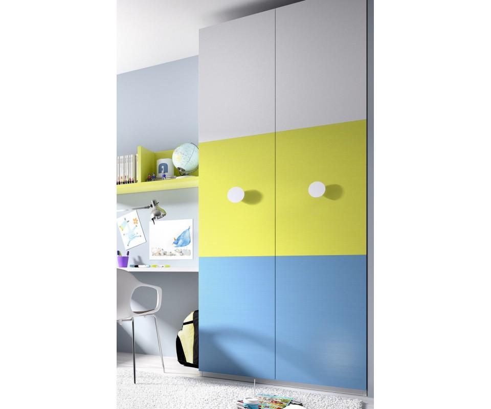 Comprar armario para habitaci n juvenil charlie precio - Espejos para habitacion juvenil ...