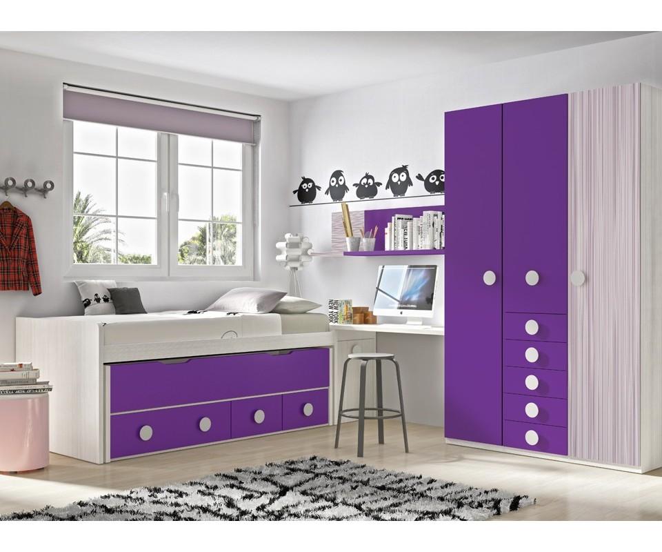 Comprar armario juvenil andrea precio armarios juvenil - Dormitorios juveniles precios ...