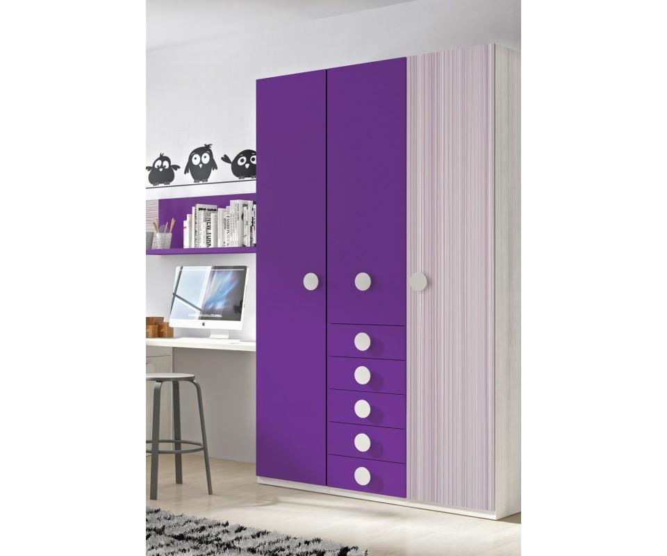 Comprar armario juvenil andrea precio armarios juvenil for Armarios para dormitorios juveniles