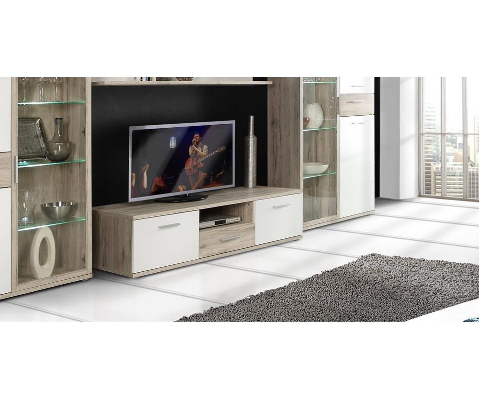 Comprar mueble de televisi n queen precio de muebles tv for Muebles salon para television
