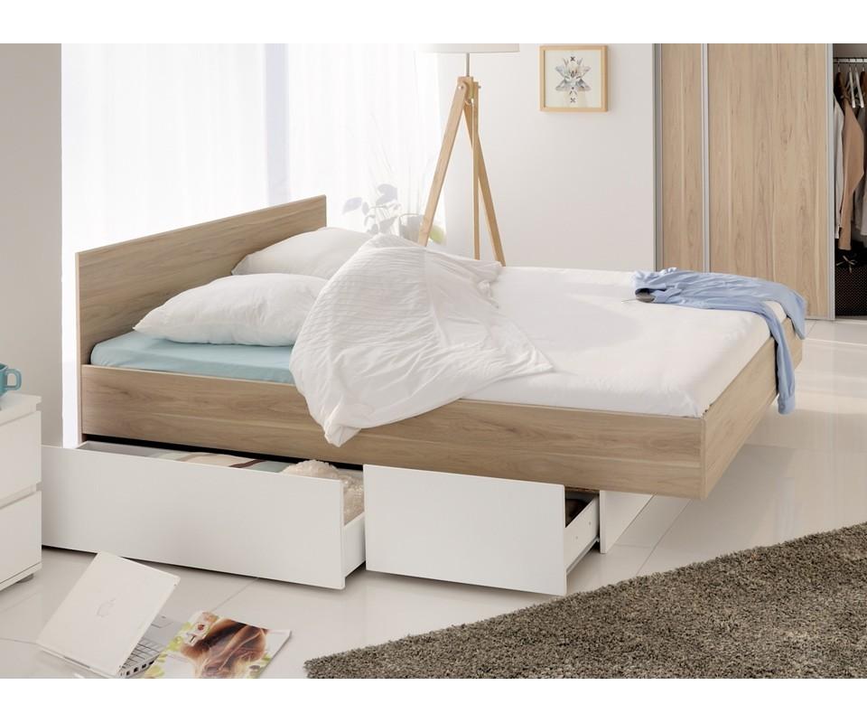 Comprar cama con cajones pure precio de cabeceros y for Cama juvenil doble con cajones