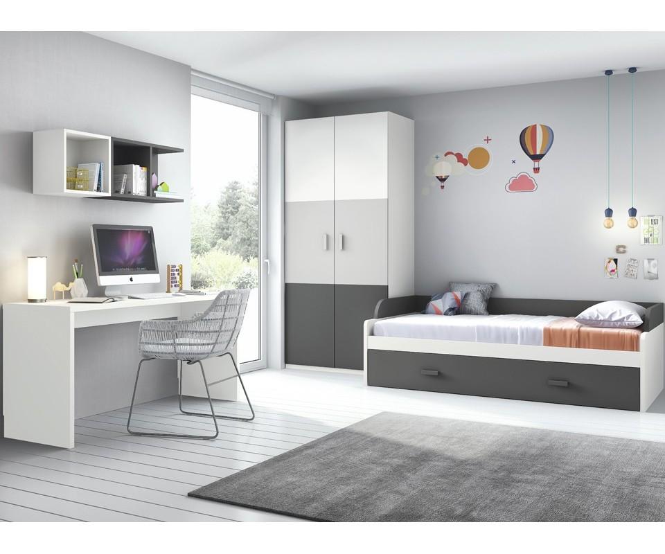 Comprar cama nido tom precio camas nido - Habitaciones juveniles muebles tuco ...