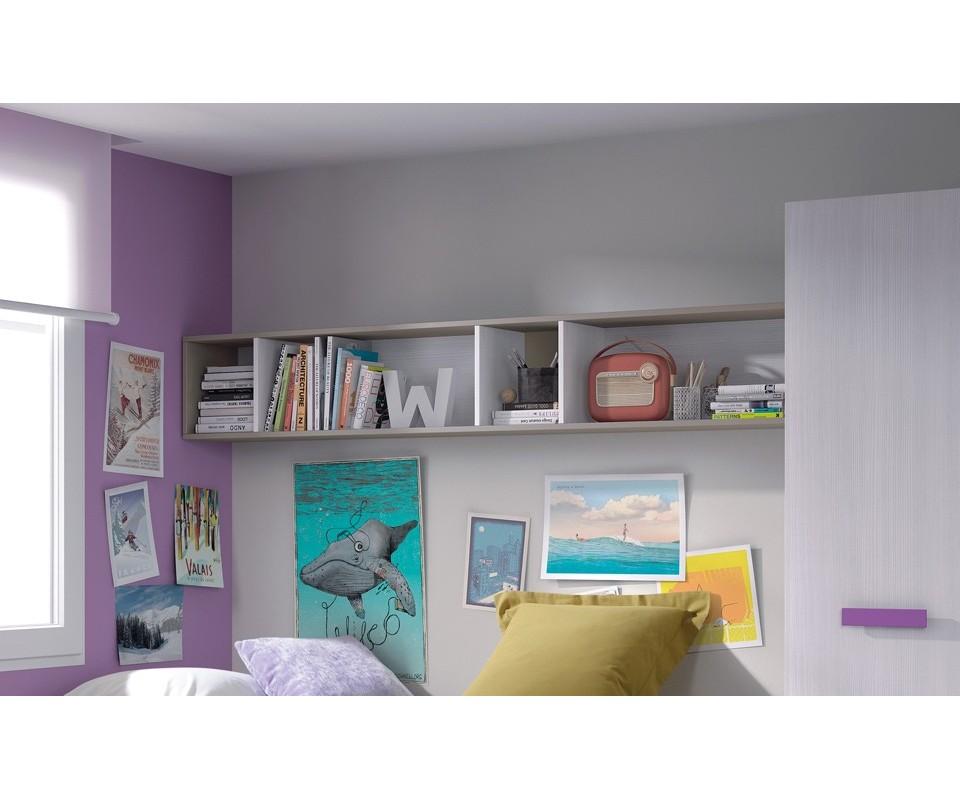 Comprar estanter a para habitaci n alicia precio estanter as - Estanteria pared ...