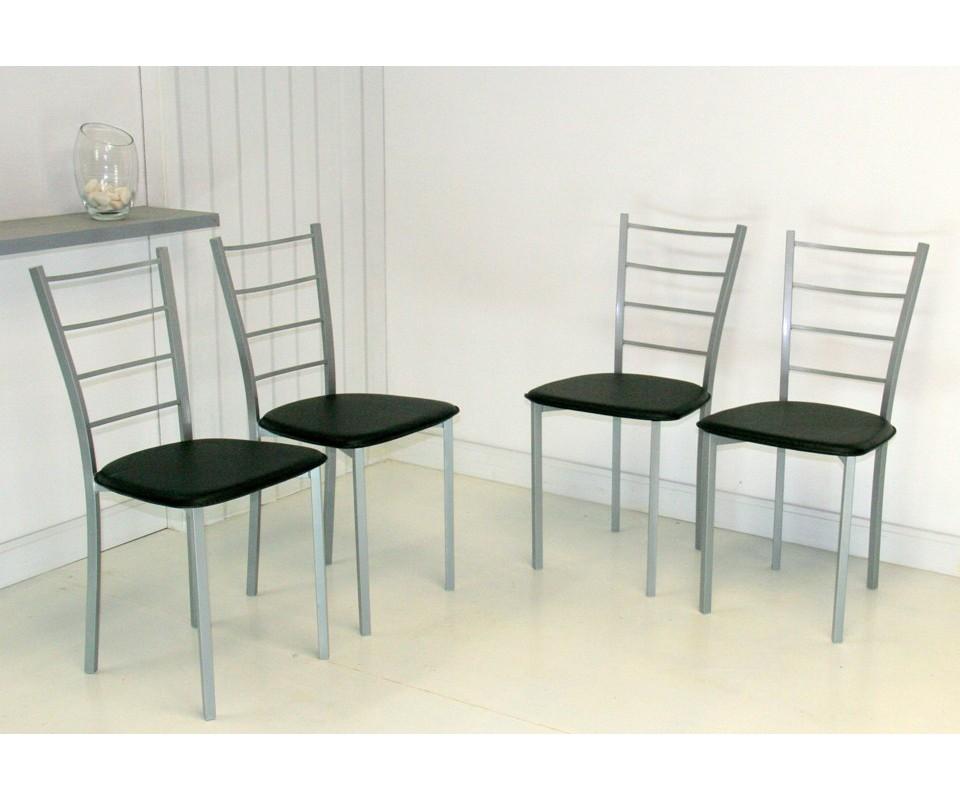 Silla para cocina pack sillas gran para cocina o comedor for Sillas barra cocina