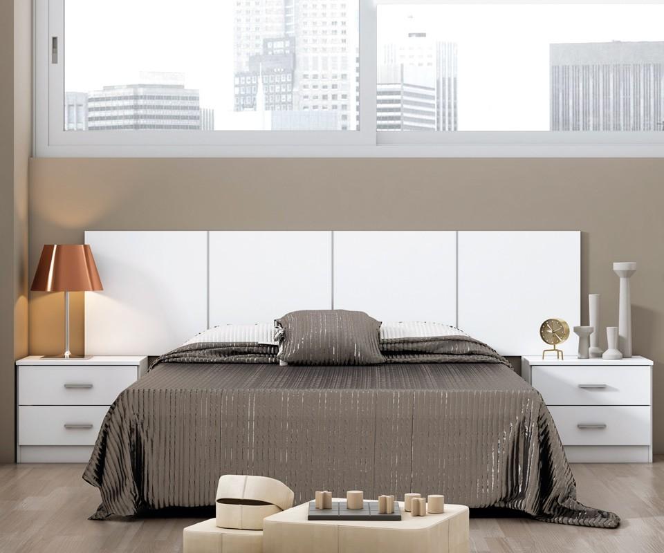 Cabecero moderno madera para cama 150 Rimon en
