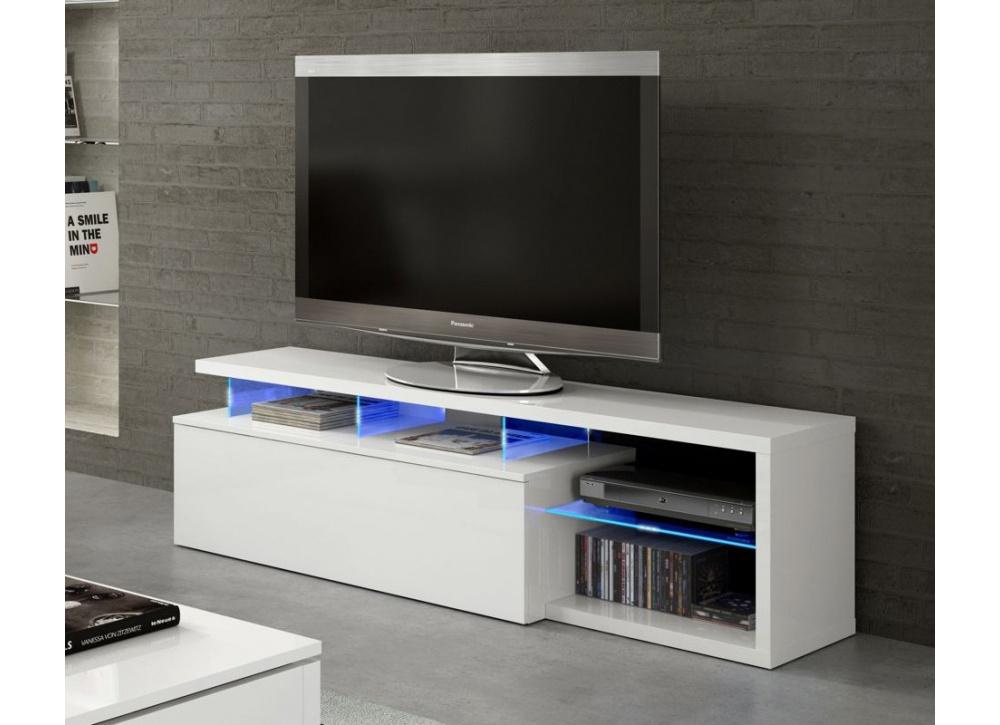 Mueble para tv con leds ligthen comprar muebles para tv for Muebles de salon con luz led