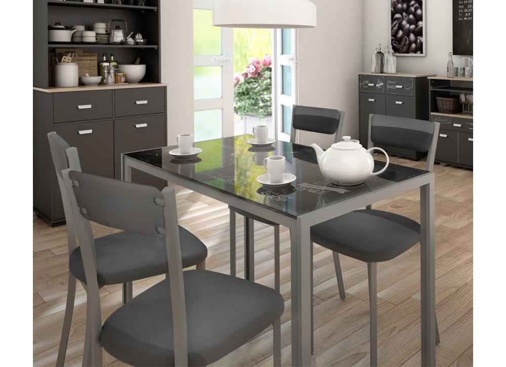 Mesa de cocina o comedor takery comprar mesas en tuco for Mesa cristal tuco