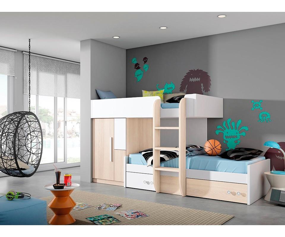 Comprar compacto juvenil eric precio conjuntos for Dormitorios precios
