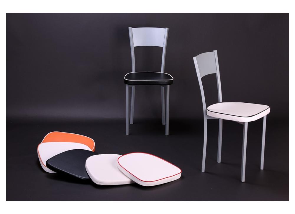 Pack de 4 sillas de cocina Bossa