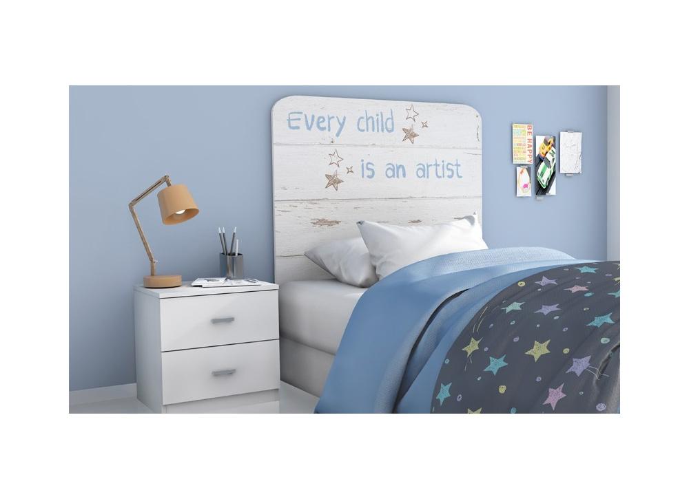 Cabecero de cama juvenil Child