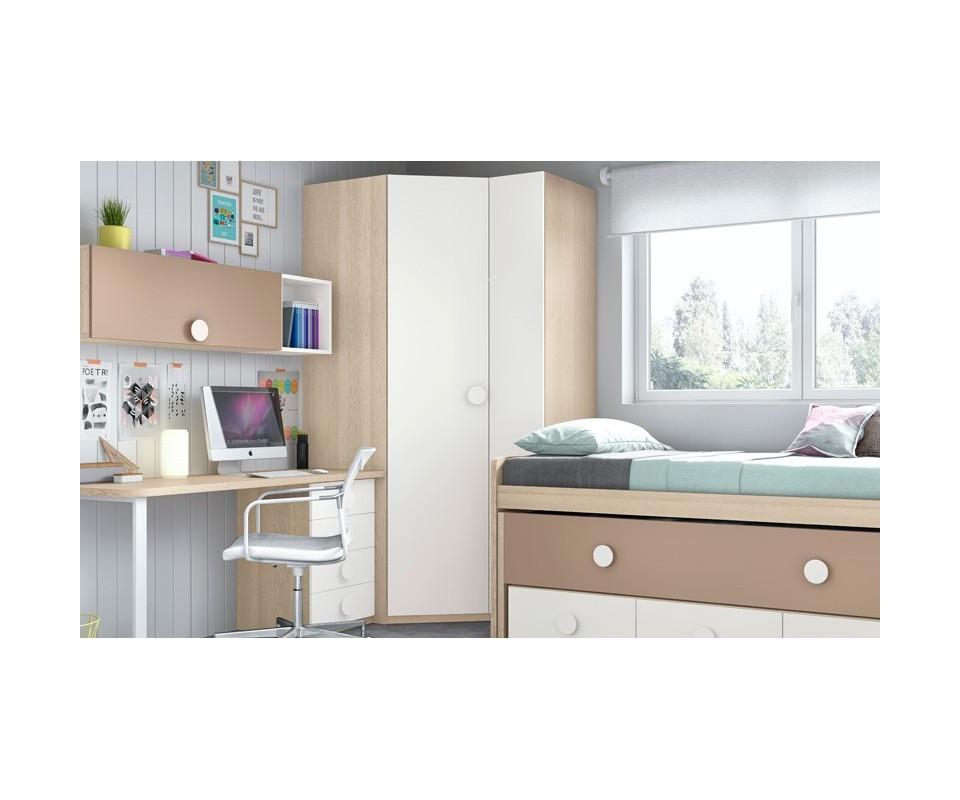 Comprar armario esquinero juvenil vega comprar armarios for Armarios para dormitorios juveniles