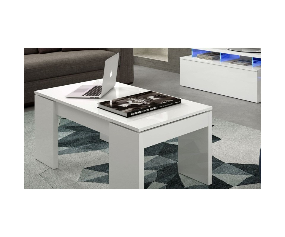 Mesa extensible de salon cerezo - Muebles tuco online ...