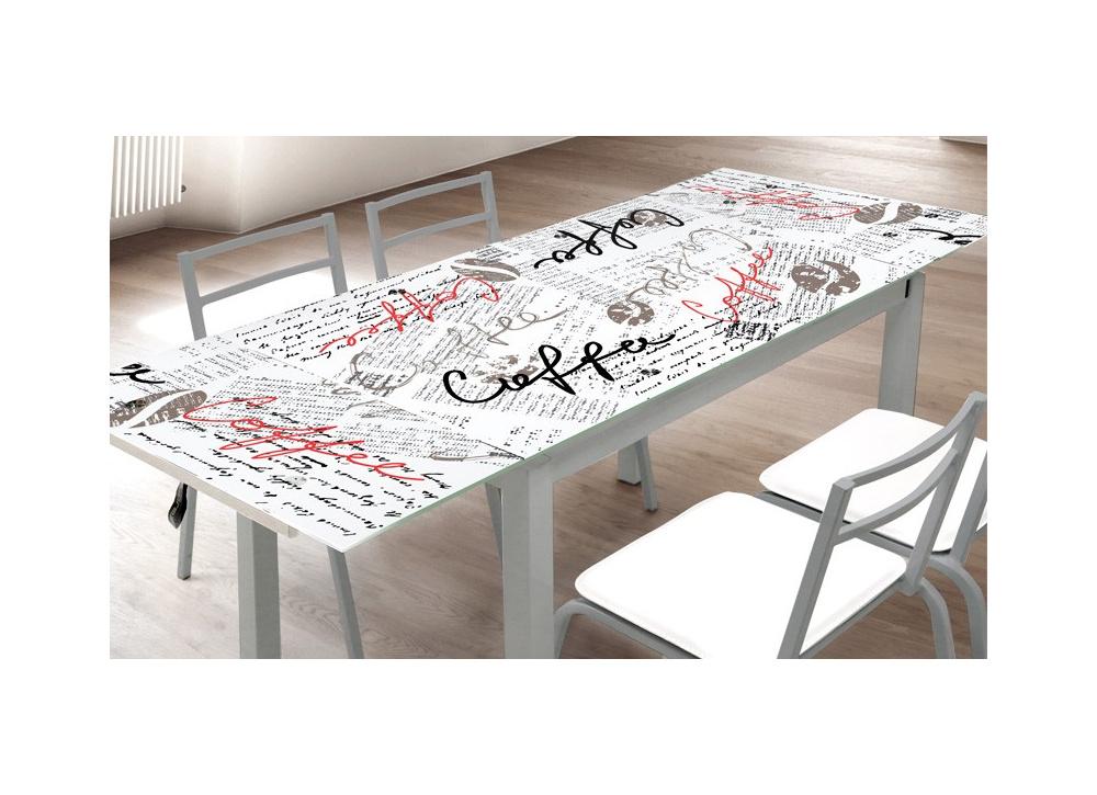 Mesa de cocina extensible Late