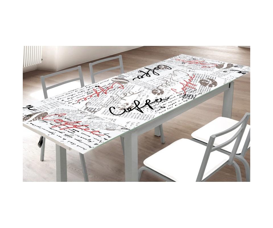 Comprar mesa de cocina extensible late comprar mesas de for Mesa cristal tuco