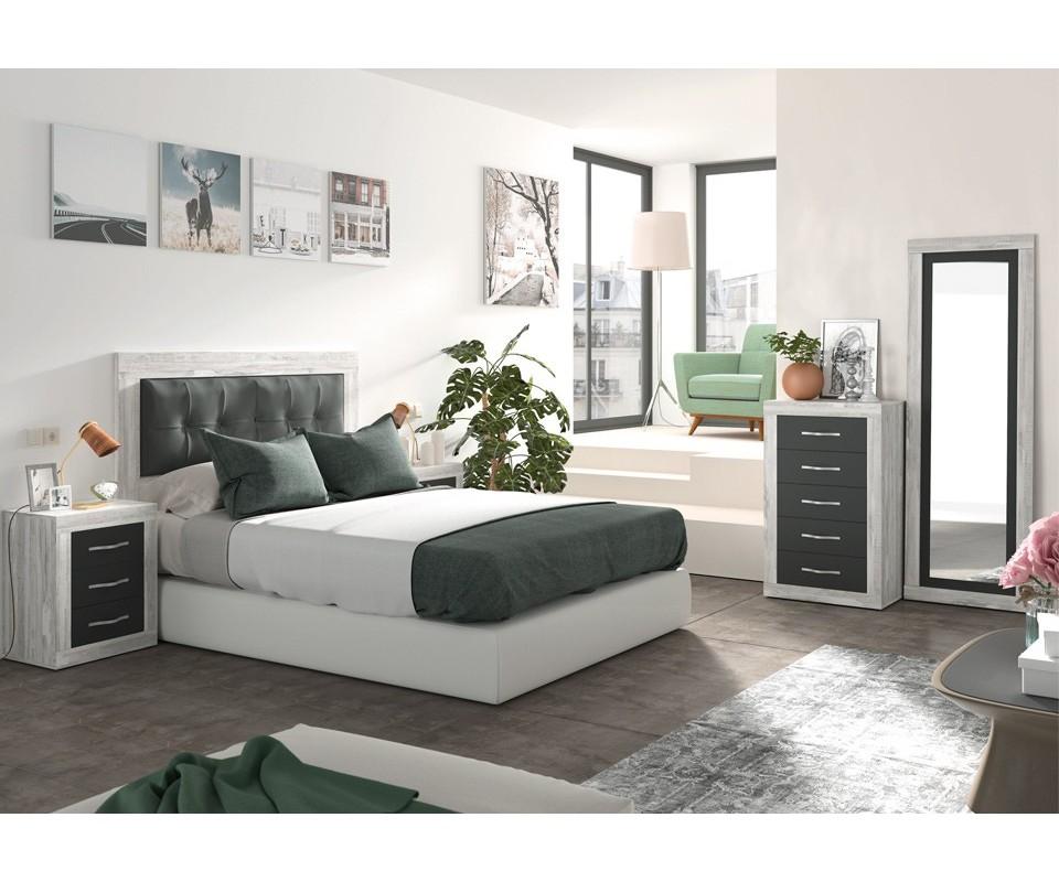 cabecero de cama dormitorio moderno pisa comprar