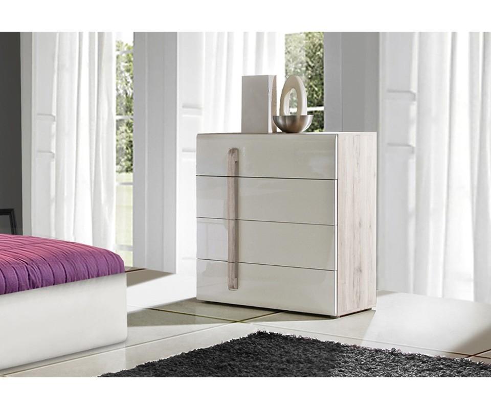 Comodas modernas blancas - Tuco dormitorios ...
