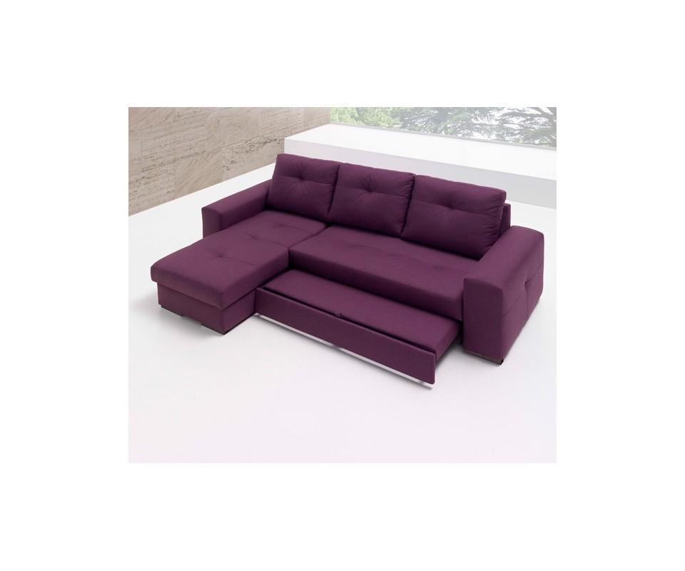 Comprar sof cama con chaise longue montana precio sof s for Donde comprar sillones sofa cama