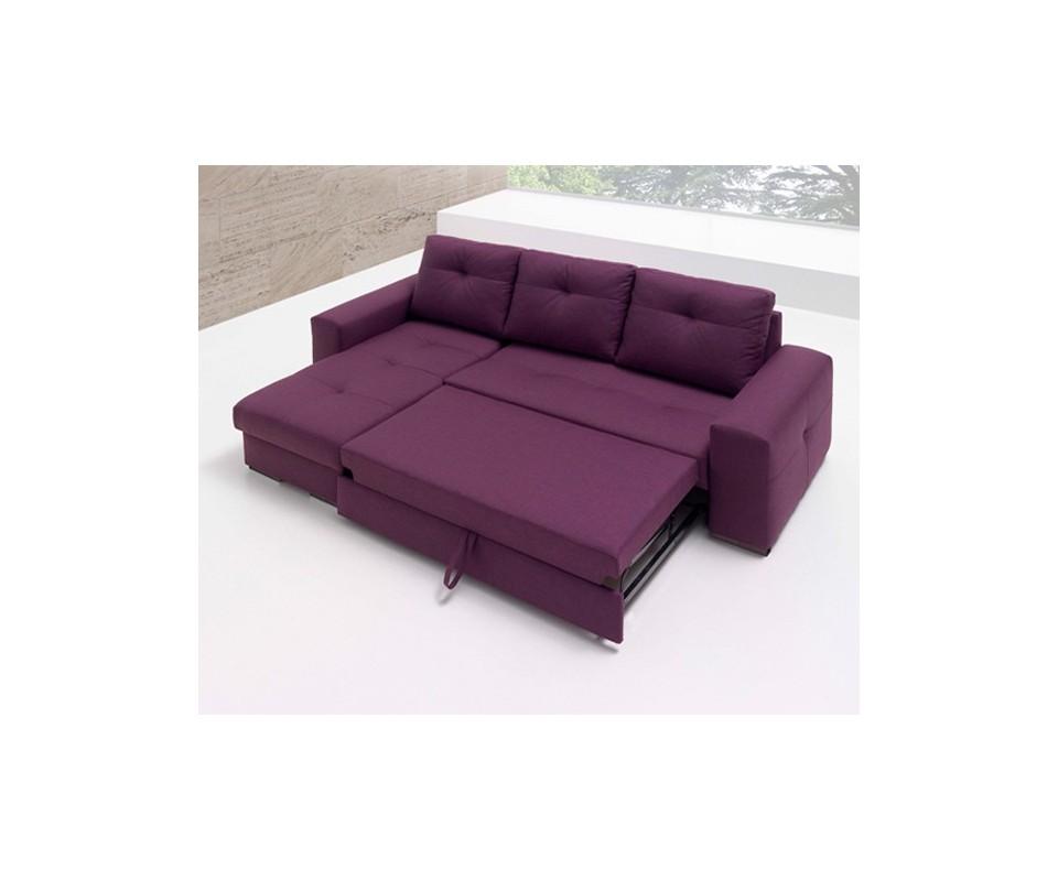 Comprar sof cama con chaise longue montana precio sof s - Sofas cama con chaise longue ...