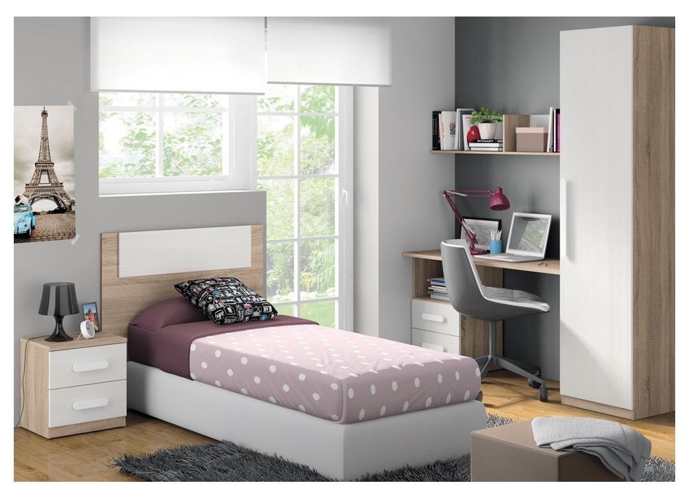 Dormitorio juvenil completo Lucía