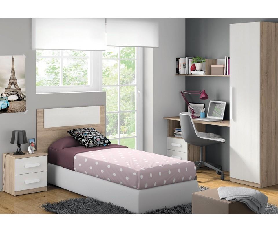 dormitorio juvenil completo luca