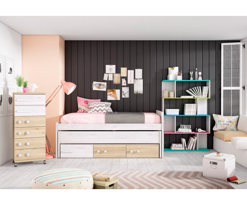 Comprar dormitorio juvenil aurora precio juveniles en for Dormitorios juveniles modernos precios