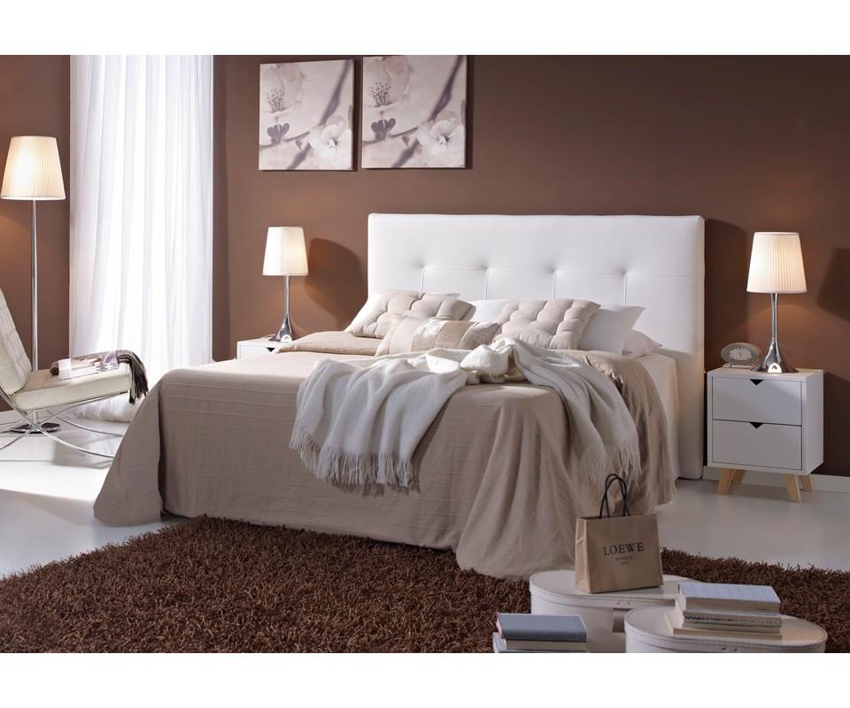 Comprar cabeceros de cama gallery of cabecero cama doble - Cabecero cama blanco ...
