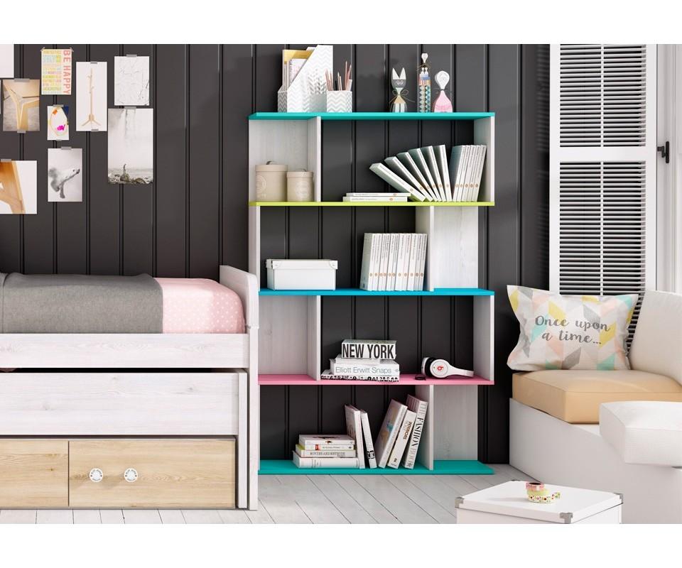 Comprar estanter a juvenil aurora precio estanter as for Muebles auxiliares para dormitorios