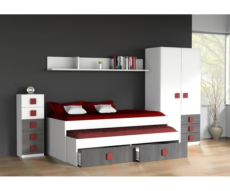 Comprar habitaci n juvenil rachel precio conjuntos for Espejos habitacion juvenil